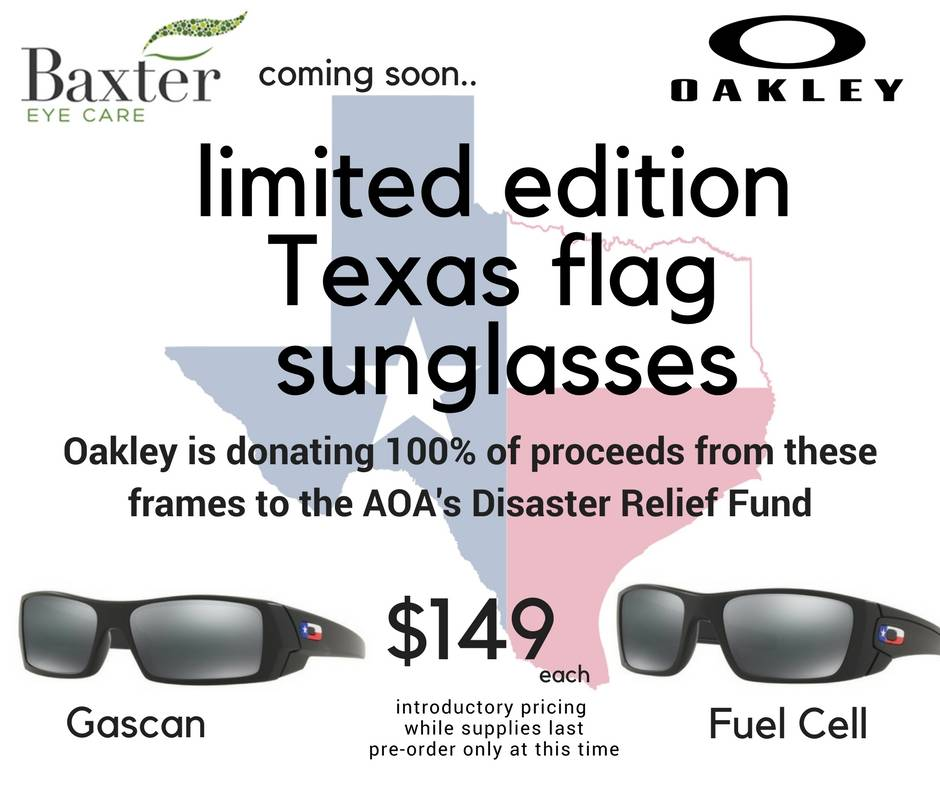 TX flag sunglasses